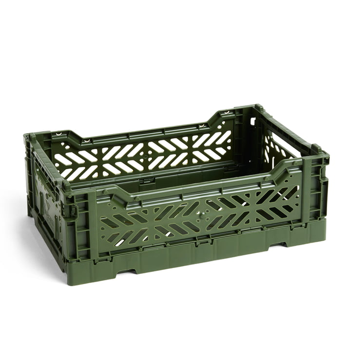 Colour Crate Basket S, 26,5 x 17 cm in khaki