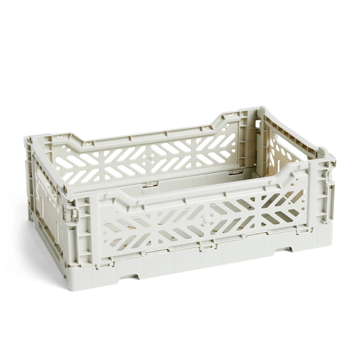 Colour Crate basket S, 26,5 x 17 cm from Hay in light grey