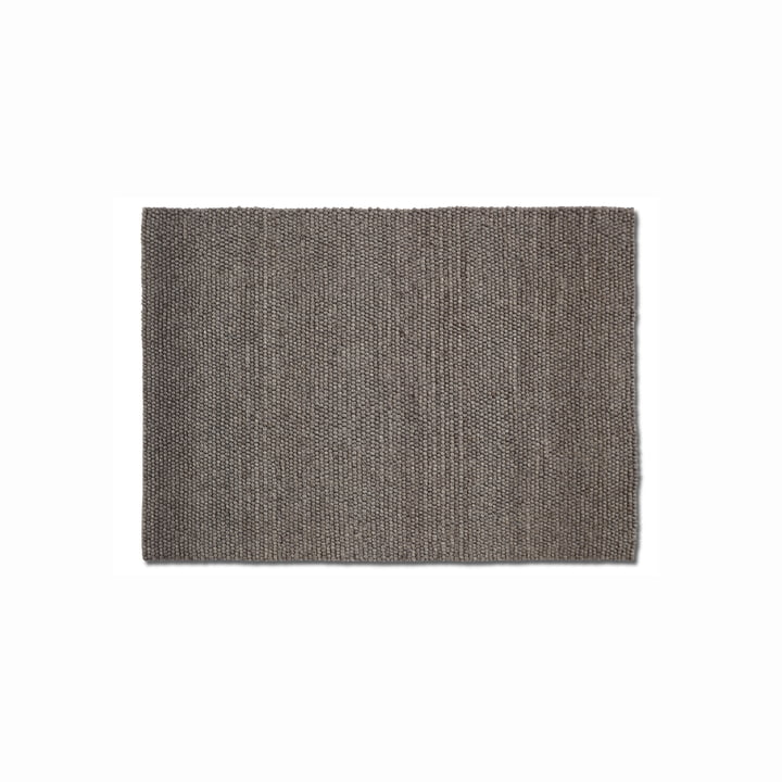 Peas carpet 140 x 200 cm from Hay in dark grey