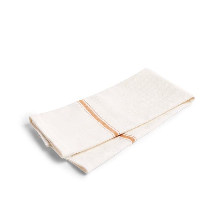 Simple Stripe Tea Towel (set of 2) in Brown