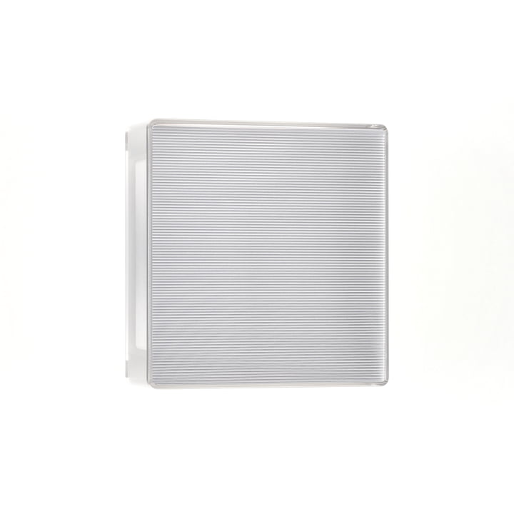 App LED wall light from serien.lighting in rib (0A000 R)