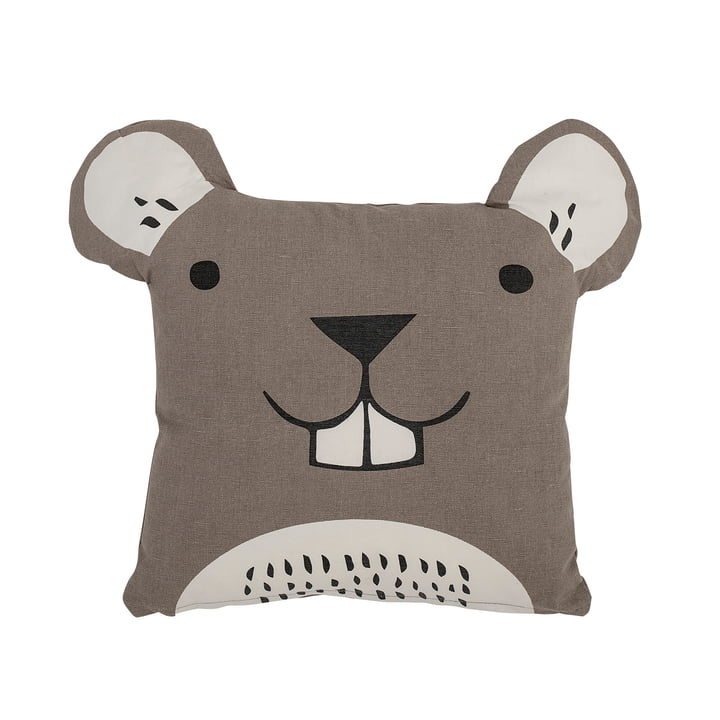Child pillow from Bloomingville - 40 x 40 cm, brown