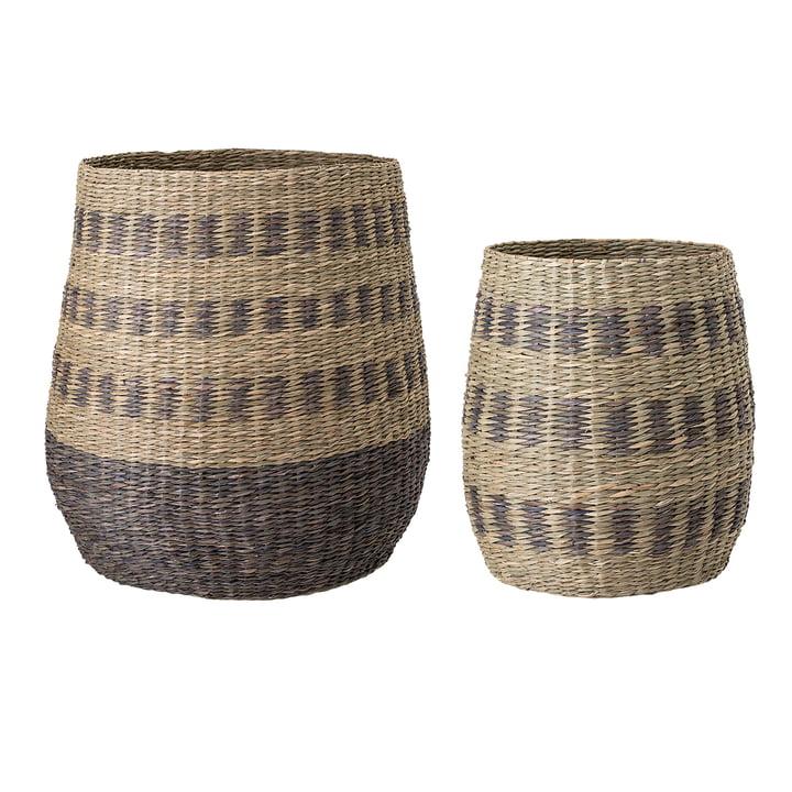 Multicolour Seaweed Basket from Bloomingville - Set of 2
