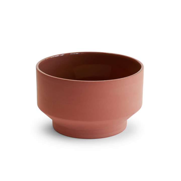Edge Bowl Ø 17 x H 10 cm from Skagerak in terracotta
