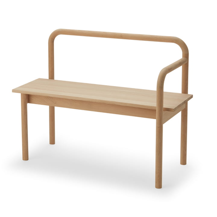 Maissi Bench from Skagerak made of oak wood