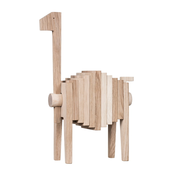 Polygrif wooden figure from Moebe in oak