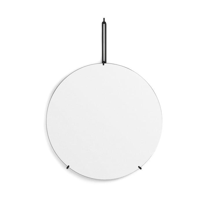Wall mirror Ø 50 cm from Moebe in black