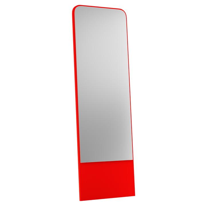 Friedrich Spiegel from Objekte unserer Tage - 60 x 185 cm, bright red