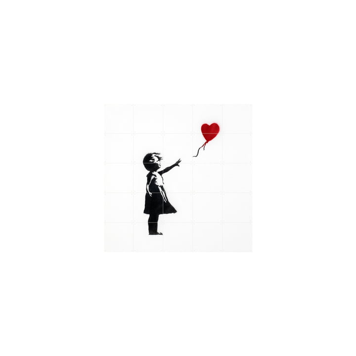 Girl with Balloon (Banksy) 100 x 100 cm from IXXI