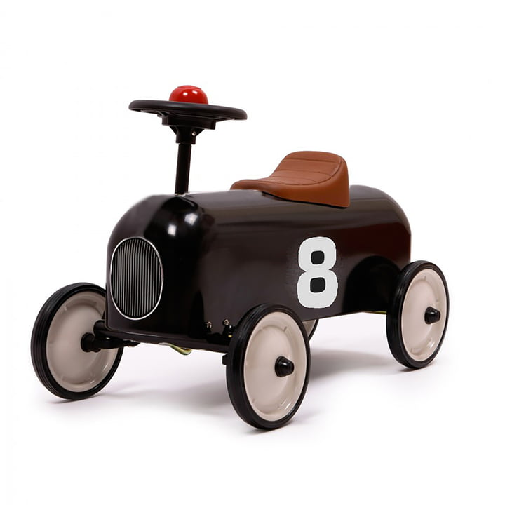 Racer slide vehicle from Baghera in black