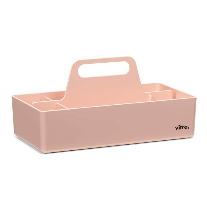 Storage Toolbox from Vitra in pale rosé