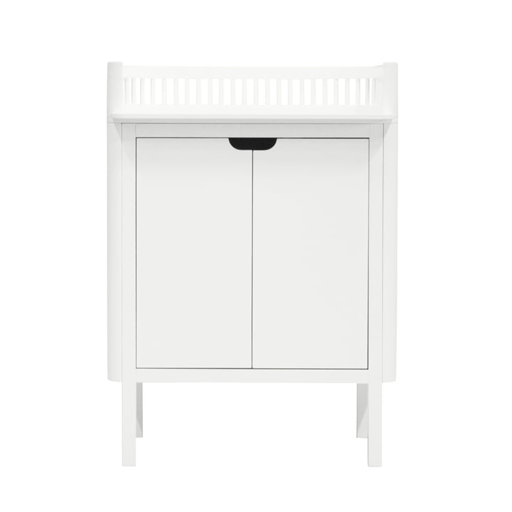 Changing table by Sebra in white
