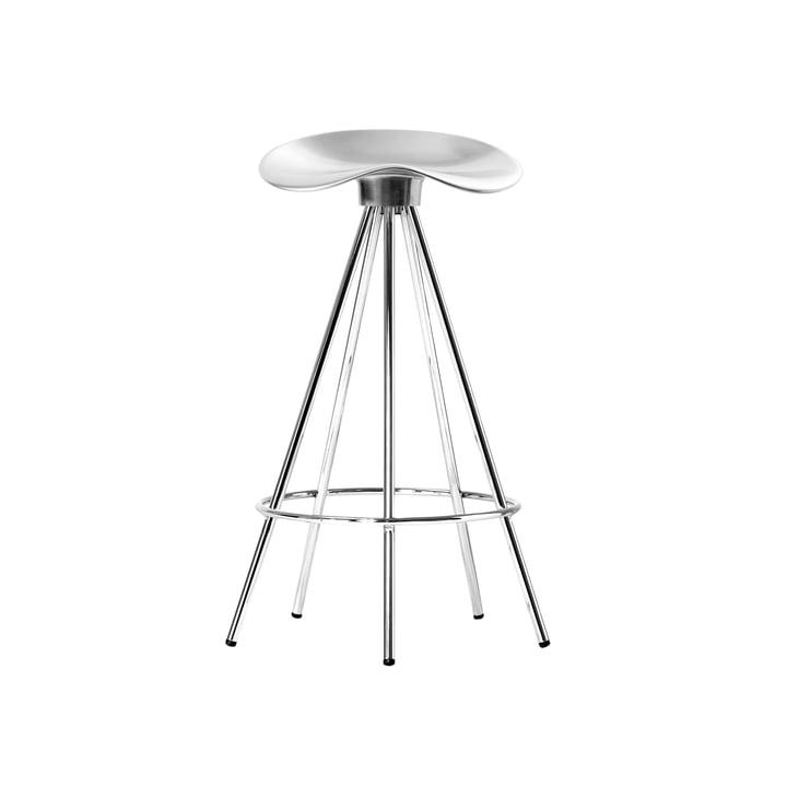 Jamaica stool H 66 cm from BD Barcelona in aluminium