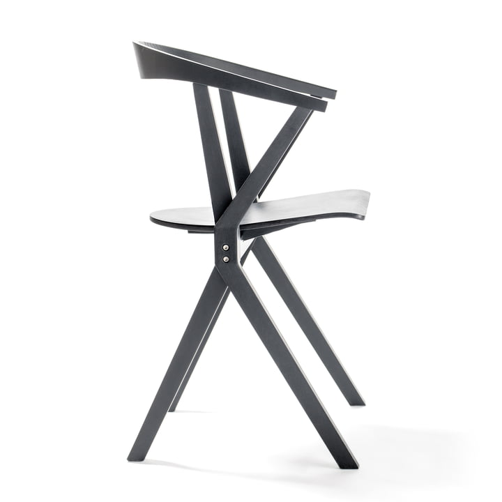 Chair B from BD Barcelona in black