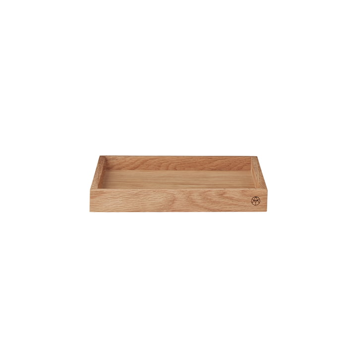 Unity wooden tray small in oak from AYTM