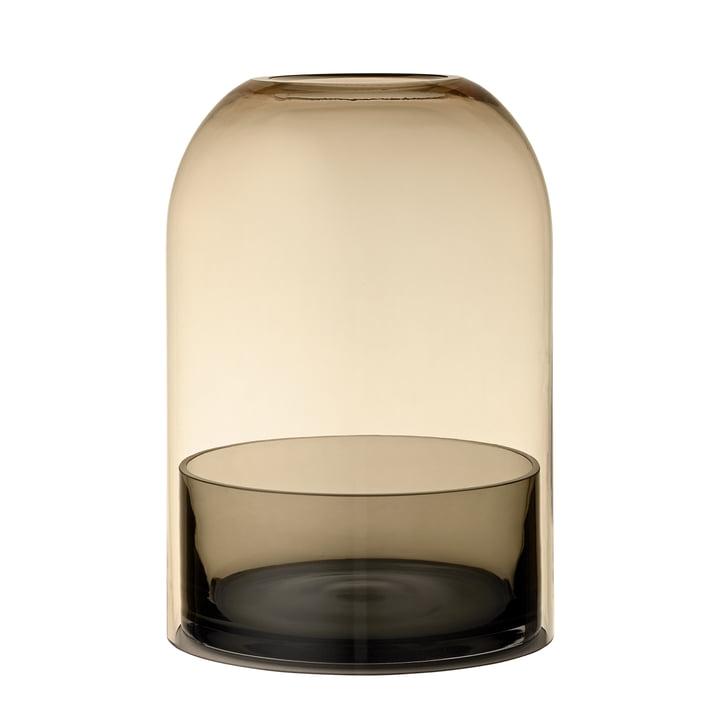 Tota Lantern, Ø 16,2 x H 23 cm, black / amber from AYTM