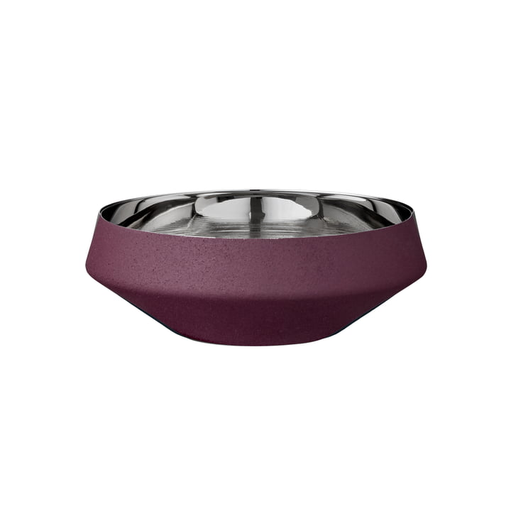 Lucea bowl extra small Ø 9,5 x H 3,5 cm in bordeaux from AYTM
