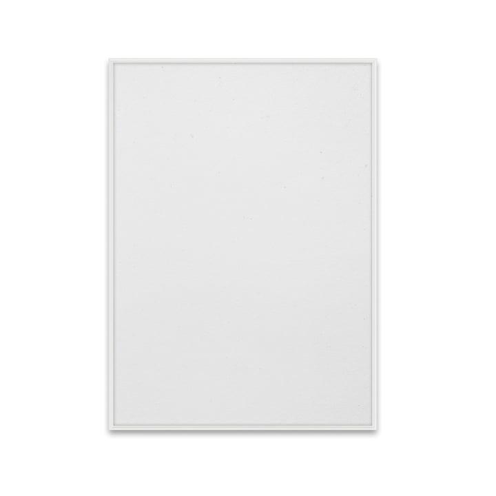 Picture frame 50 x 70 cm from Paper Collective in aluminium white matt