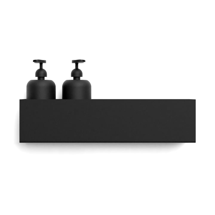 Wall shelf L 40 cm from Nichba Design in black