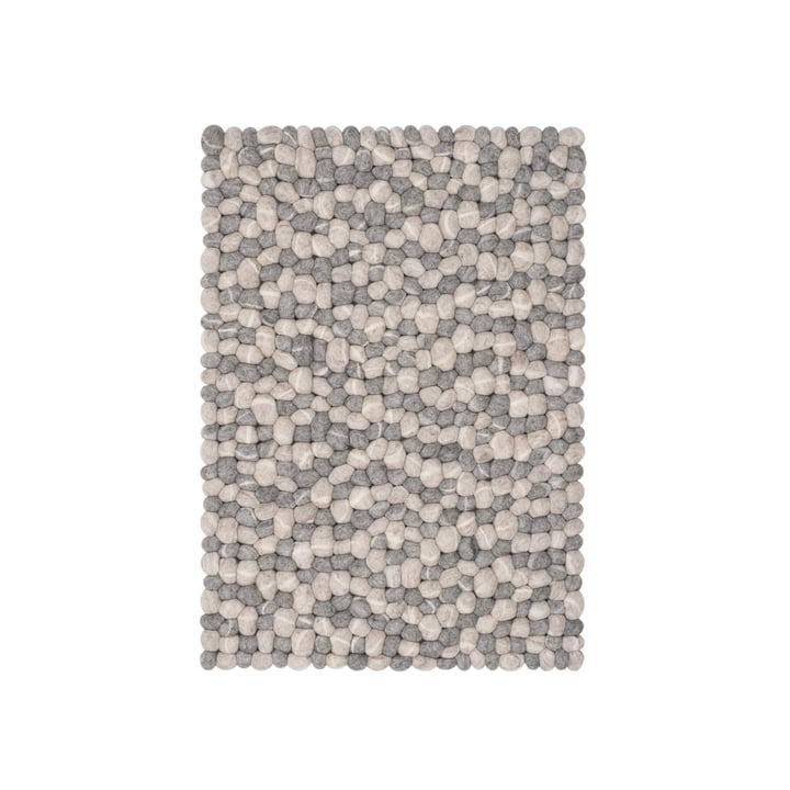 Ernie felt ball carpet by myfelt, 70 x 100 cm