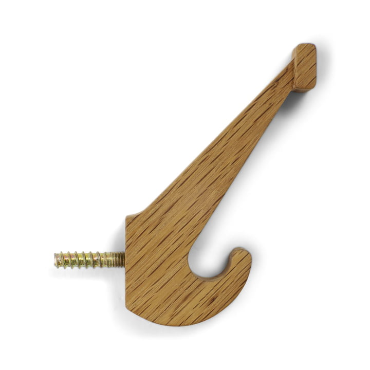 Skoleknagen school wall hook from Spring Copenhagen in oak