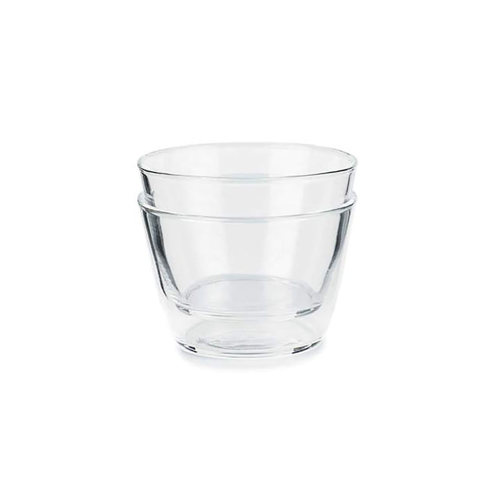 Double Up drinking glass from Spring Copenhagen in clear (set of 2)