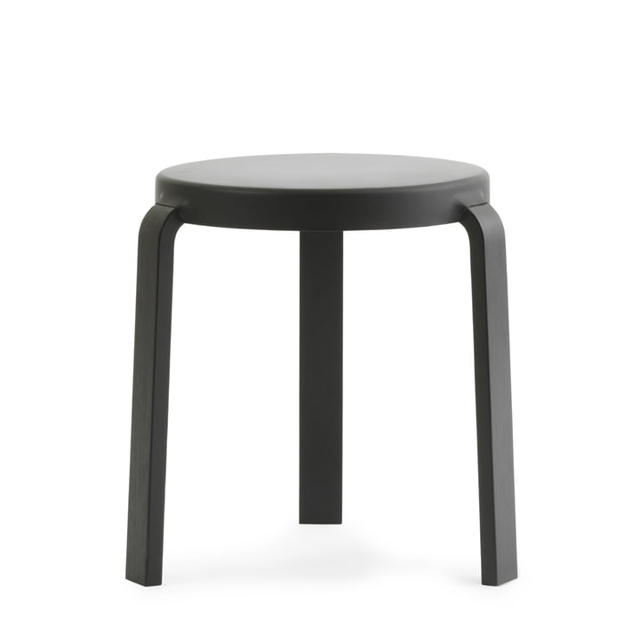 Tap stool by Normann Copenhagen in black / black