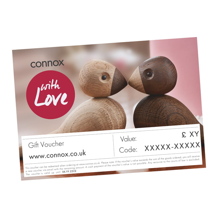 Gift voucher: with love