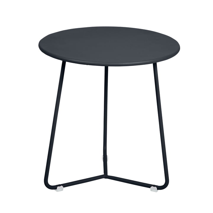 Cocotte Side table / stool Ø 34 cm x H 36 cm from Fermob in anthracite