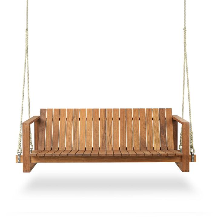 BK13 garden swing by Carl Hansen oiled in teak