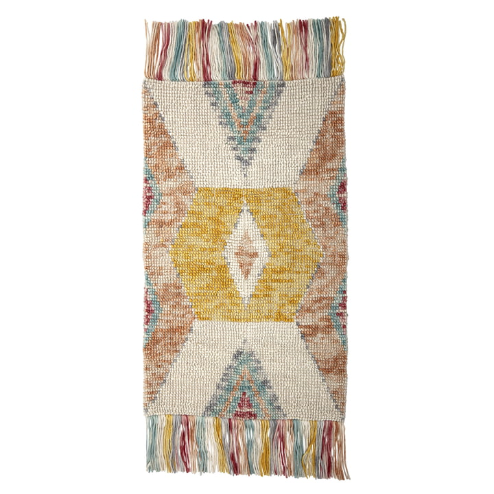 Carpet L 150 x W 90 cm from Bloomingville in multi-color