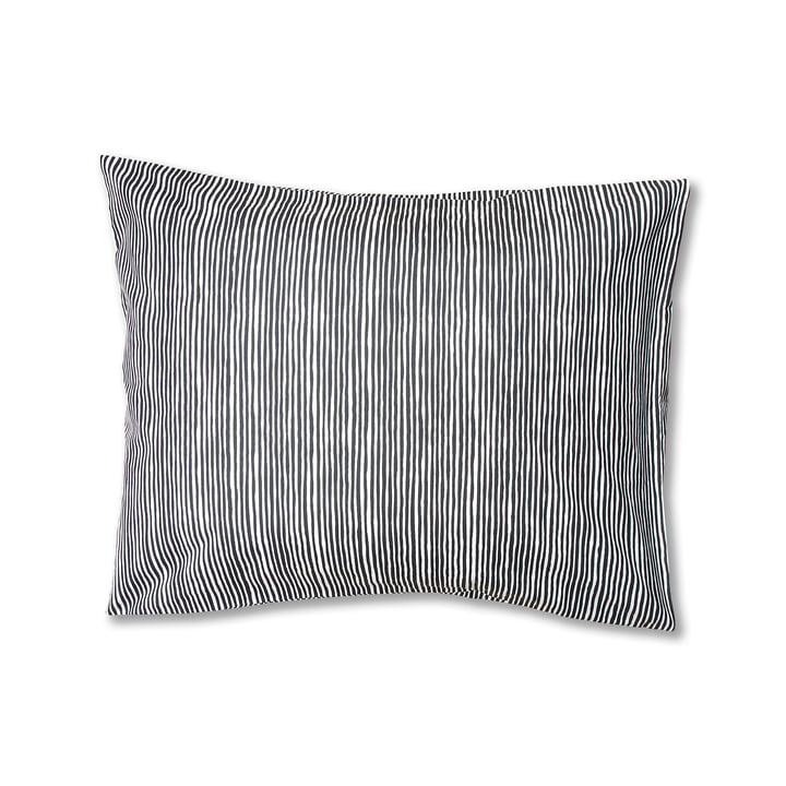 Varvunraita pillowcase by Marimekko, 50 x 60 cm in black / white