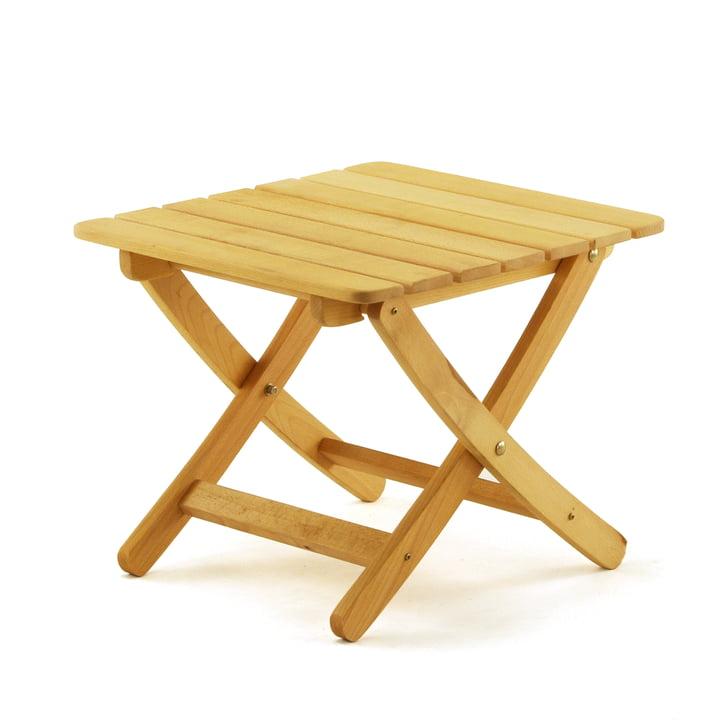 Matty Folding garden stool in Robinia by Fiam