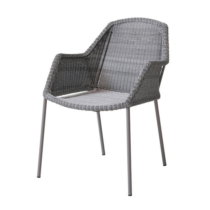Breeze Armchair stackable (5464) from Cane-line in light grey
