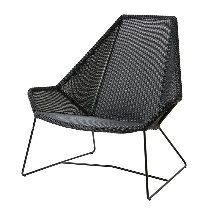 Breeze Highback armchair (5469) from Cane-line in black