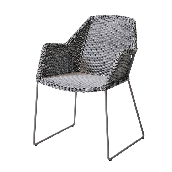 Breeze armchair (5467) from Cane-line in light grey