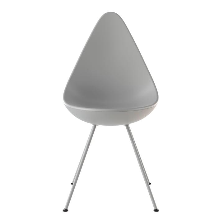 Drop chair from Fritz Hansen in nine grey