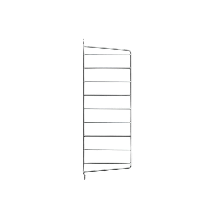 Wall Ladder for String Shelf 50 x 20 cm from String in Galvanized