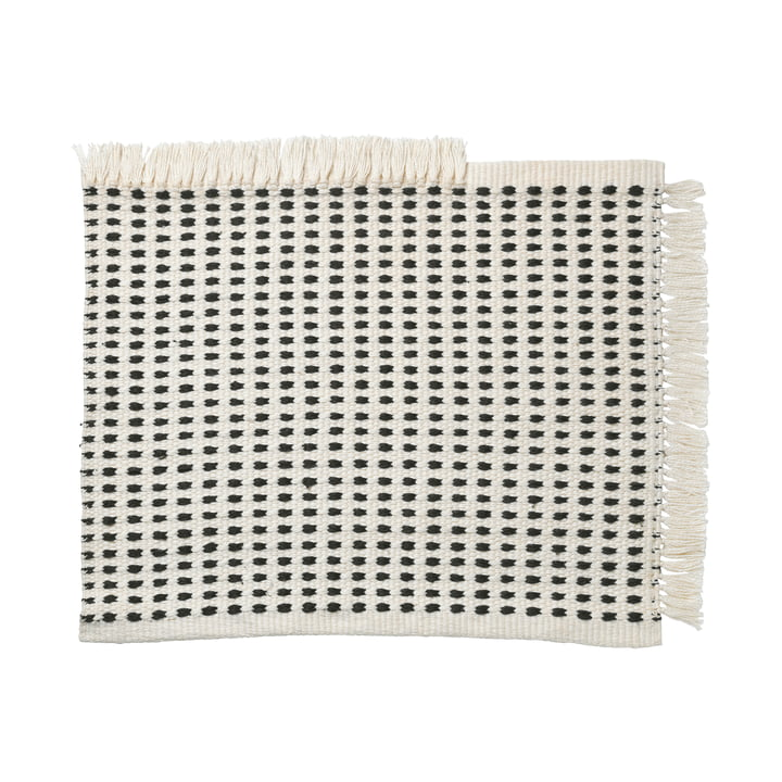 Way Outdoor Mat, 50 x 70 cm in off-white / blue by ferm Living