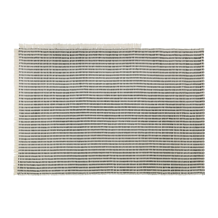 Way Outdoor carpet, 140 x 200 cm in off-white / blue from ferm Living
