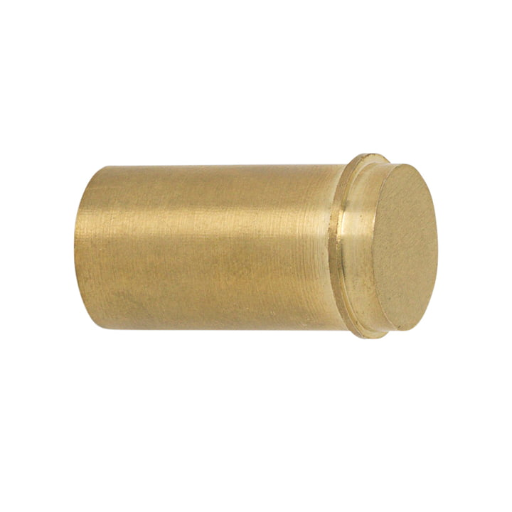 Wall hook small in brass from ferm Living