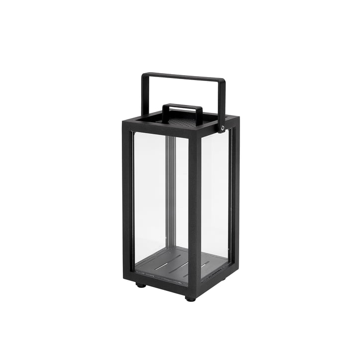 Lighthouse Lantern H 37 cm from Cane-line lava-grey