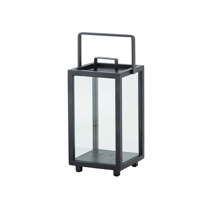 Lighthouse Lantern H 42 cm from Cane-line lava-grey