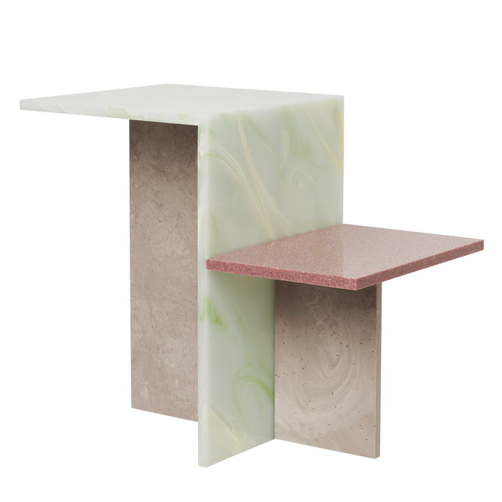 Distinct side table in multi from ferm Living