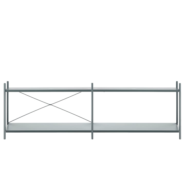 Punctual shelving system 2x2 in dark blue by ferm Living