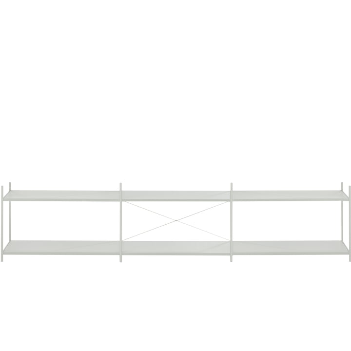 Punctual shelving system 3x2 in grey from ferm Living