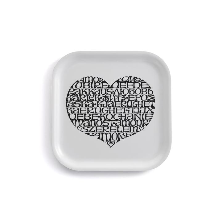 Classic Tray small International Love Heart by Vitra