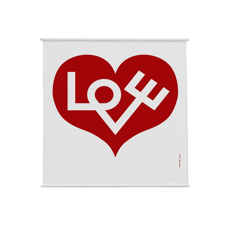Environmental Wall Hanging Wall Panel 83 x 86 cm Love Heart by Vitra