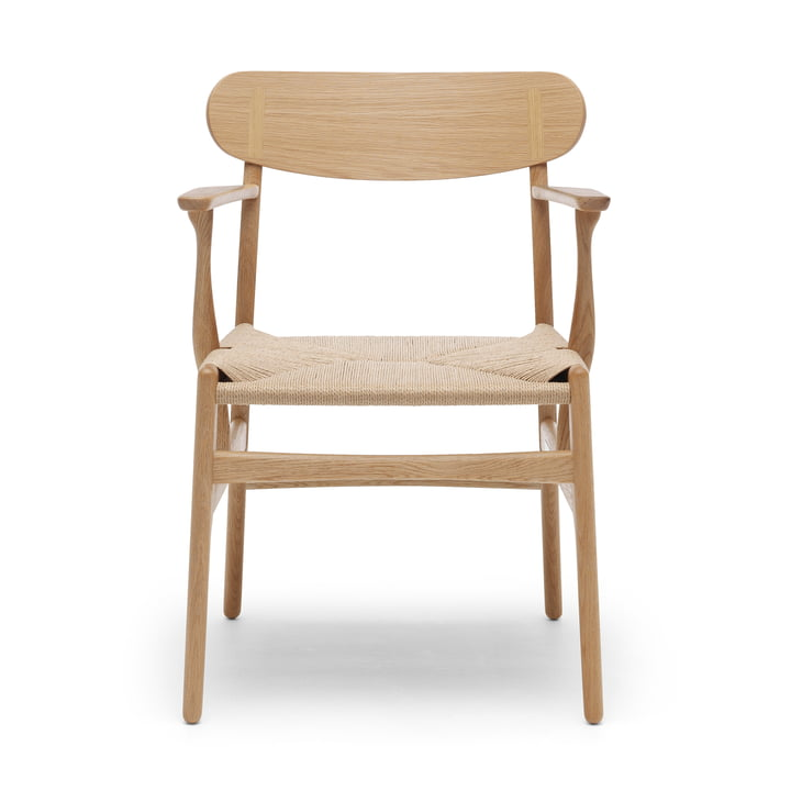 CH26 Armchair by Carl Hansen in oak oiled / nature