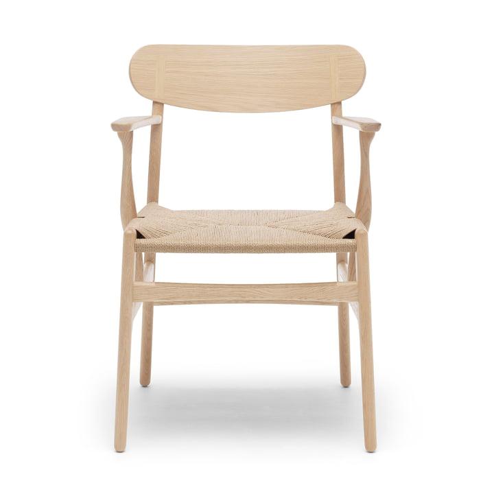 CH26 Armchair by Carl Hansen in oak soap / nature